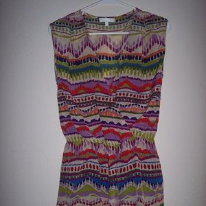 Glam Multi Color Dress Size S